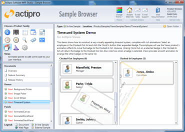 Actipro Views for WPF adds Book control