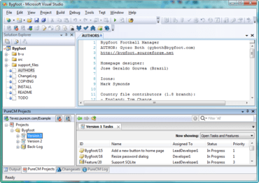 PureCM 2010-2b adds permissions menu