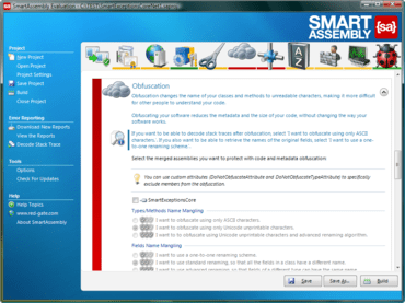 SmartAssembly simplifies XAP processing
