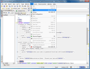 PhpStorm adds automatic code completion