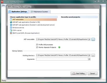 ANTS Memory Profiler adds snapshot API