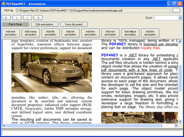 PDFView4NET improves display of PDF files