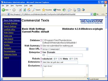 Webinator V6.0 improves XML output