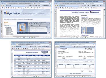 Syncfusion Essential PDF improves conversion