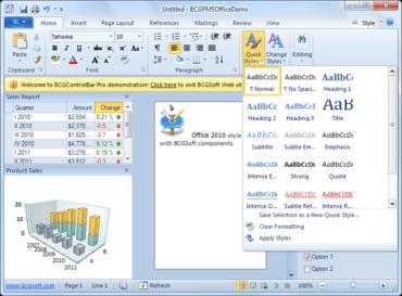 BCGControlBar adds Visual Studio 11 Beta support