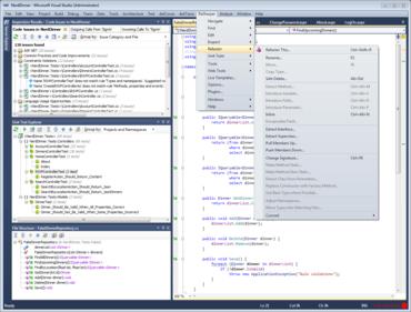 ReSharper 7 adds support for Visual Studio 2012