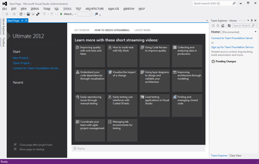 Microsoft Launches Visual Studio 2012
