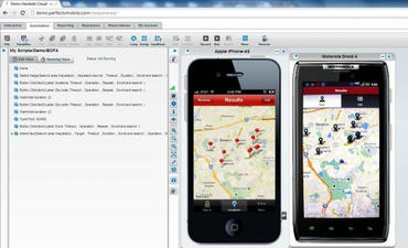Industry's first hybrid mobile application testing solution