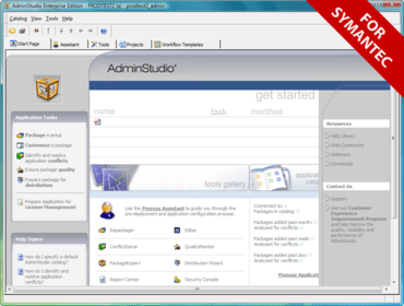 应用程序生命周期管理解决方案》(symantec wise package studio.