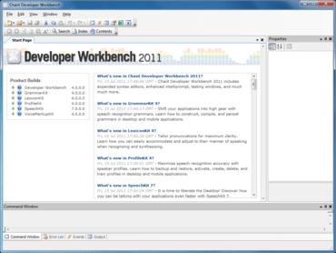 Chant Developer Workbench updates Kinect support