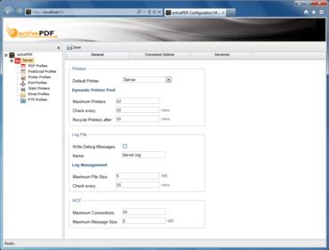activePDF Server adds Browser UI