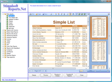 Stimulsoft Reports adds Report Designer for WinRT