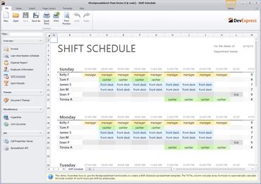 DevExpress WinForms adds Spreadsheet Control