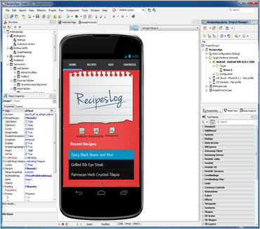 Delphi XE5 adds App Development for Android