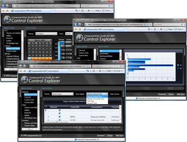 ComponentOne Studio for WPF 2014 v1 released