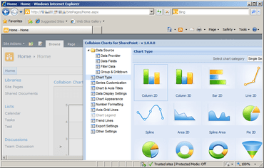 Collabion Charts for SharePoint V2.0 released