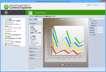 ComponentOne Studio for WinForms(日本語版)がアップデート