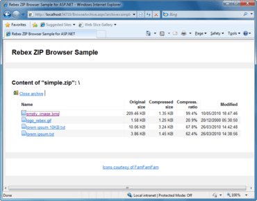 Rebex ZIP for .NET now available