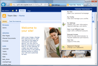 HarePoint Password Change SharePoint released
