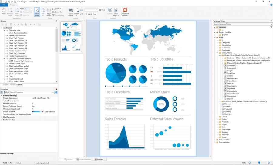 php report maker export pdf
