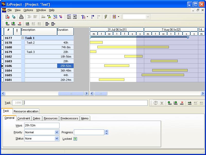 Screenshot of EzPlan-IT