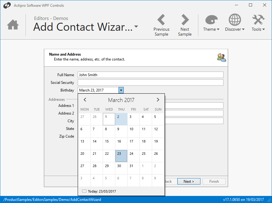 Actipro Editors for WPF 스크린샷