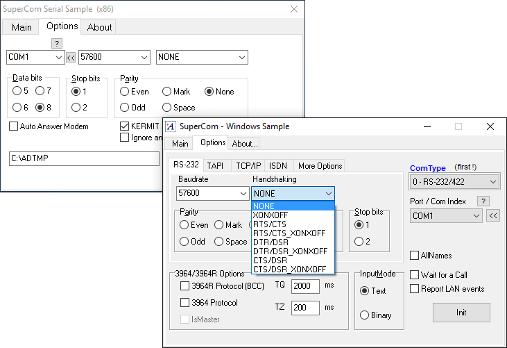 Screenshot of SuperCom 7
