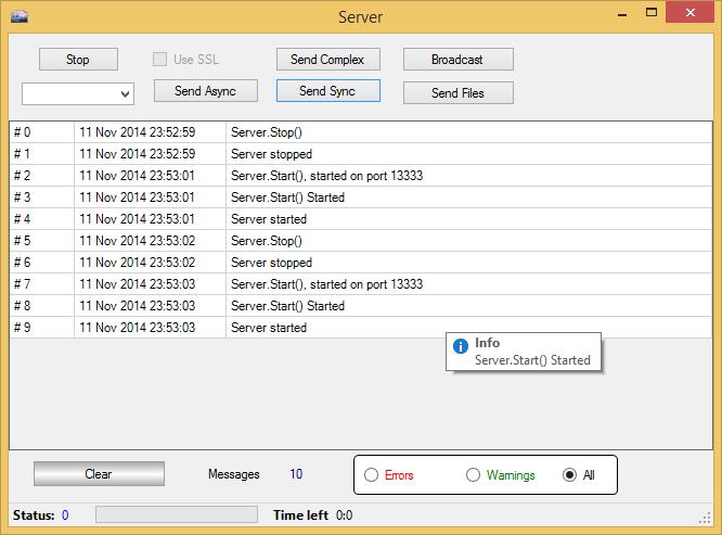 Screenshot of ZDuplex