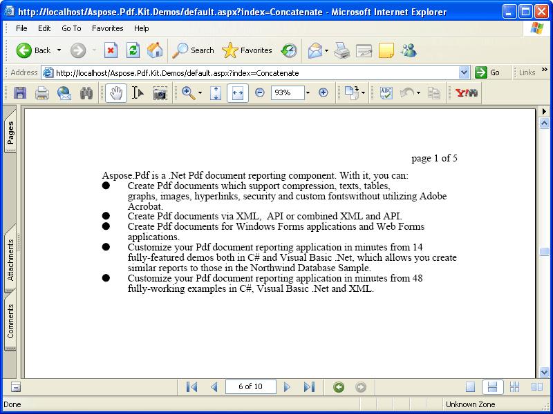PDF Files Processing API - Aspose