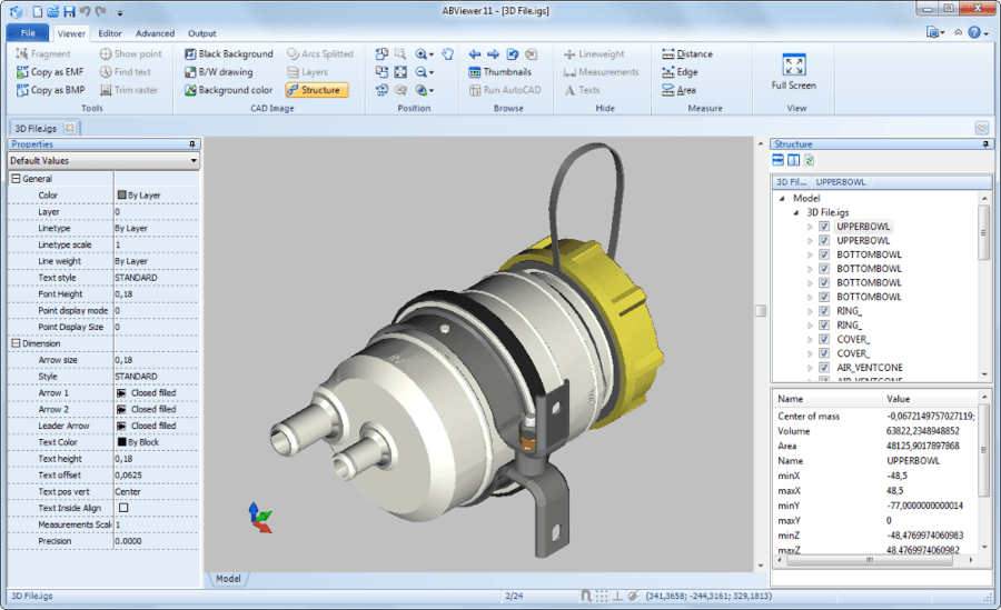 Screenshot of ABViewer
