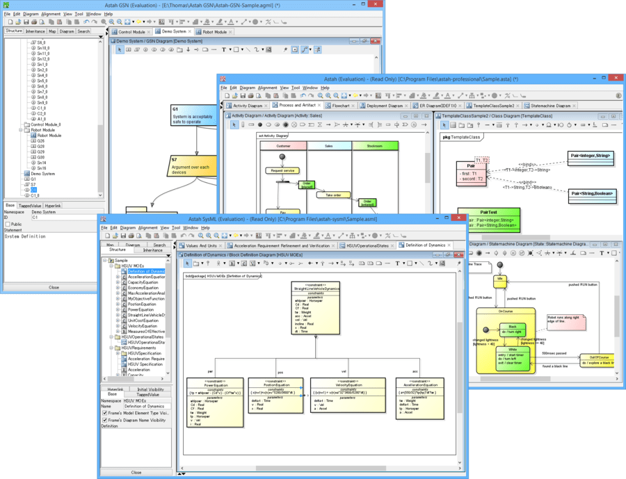 Screenshot of Astah Engineering Pack