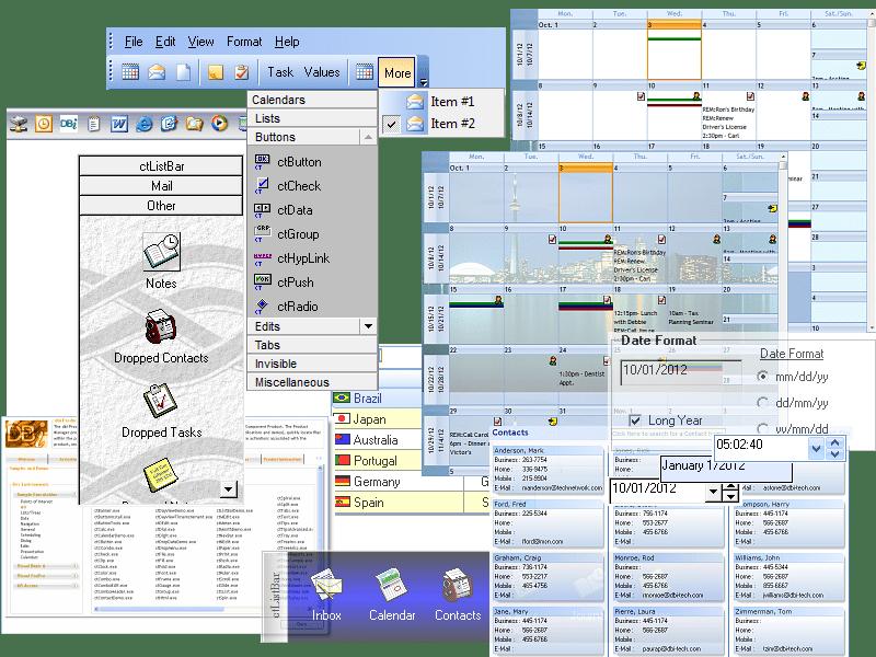COM Tools のスクリーンショット