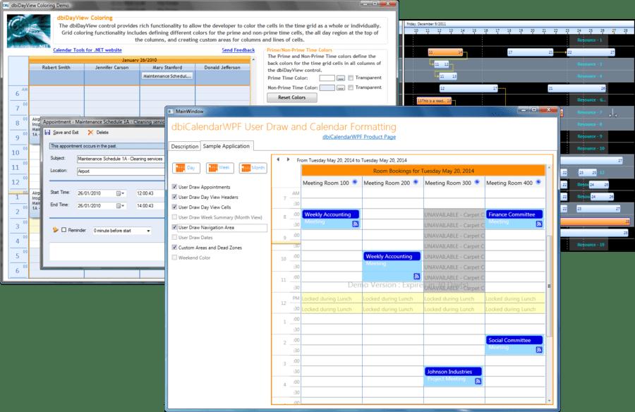 DBI Corporate Suite のスクリーンショット