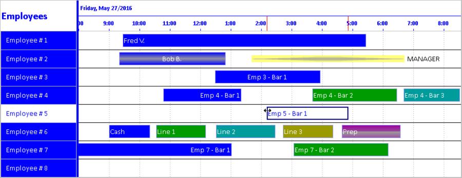 Solutions Schedule COM 64 のスクリーンショット