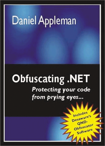 Screenshot of Obfuscating .NET