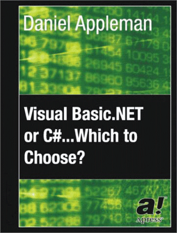 Screenshot of Visual Basic.NET or C#? Which to Choose?