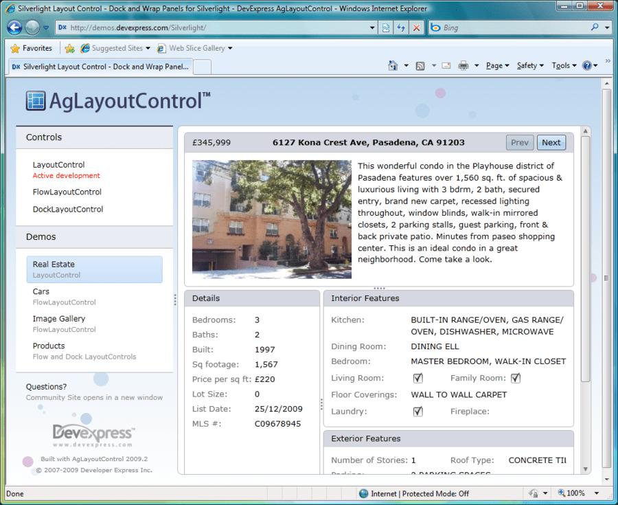 Captura de tela do DevExpress DXperience and VCL Subscription Bundle