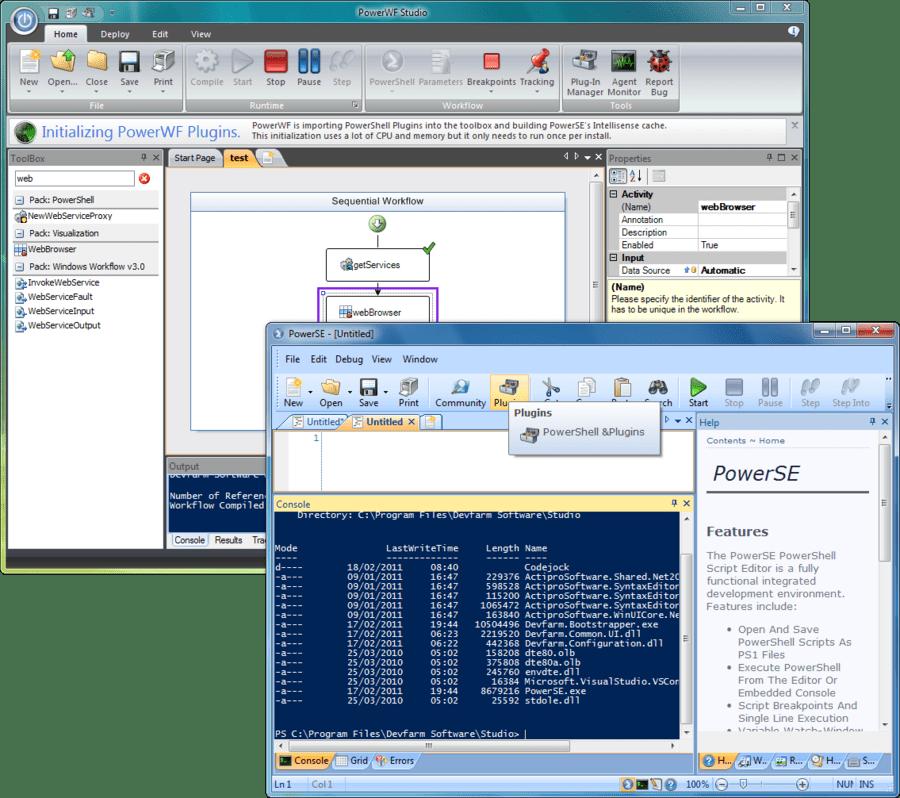 Screenshot of System Center Bundle