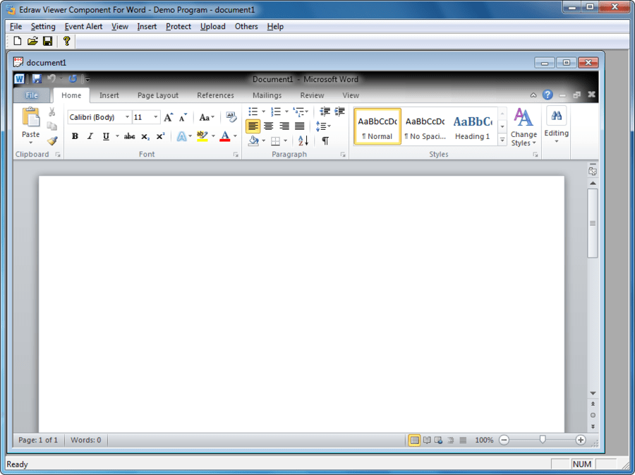 Edraw viewer component for word 7.0.0.212