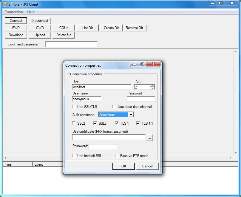 Screenshot of FTPSBlackbox VCL - Vendor