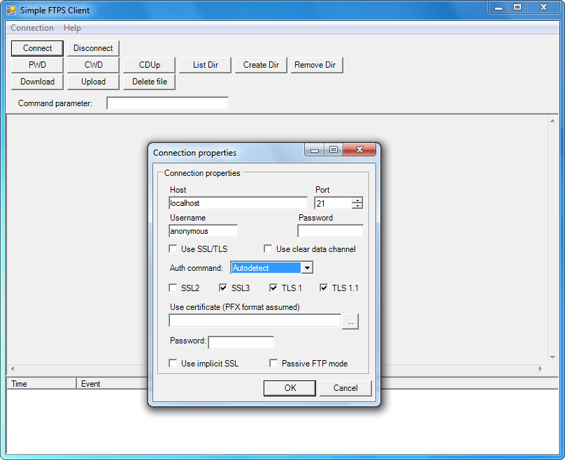 Screenshot of FTPSBlackbox VCL - Vendor