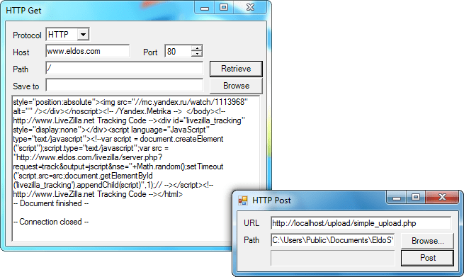 Screenshot of HTTPBlackbox VCL - Vendor