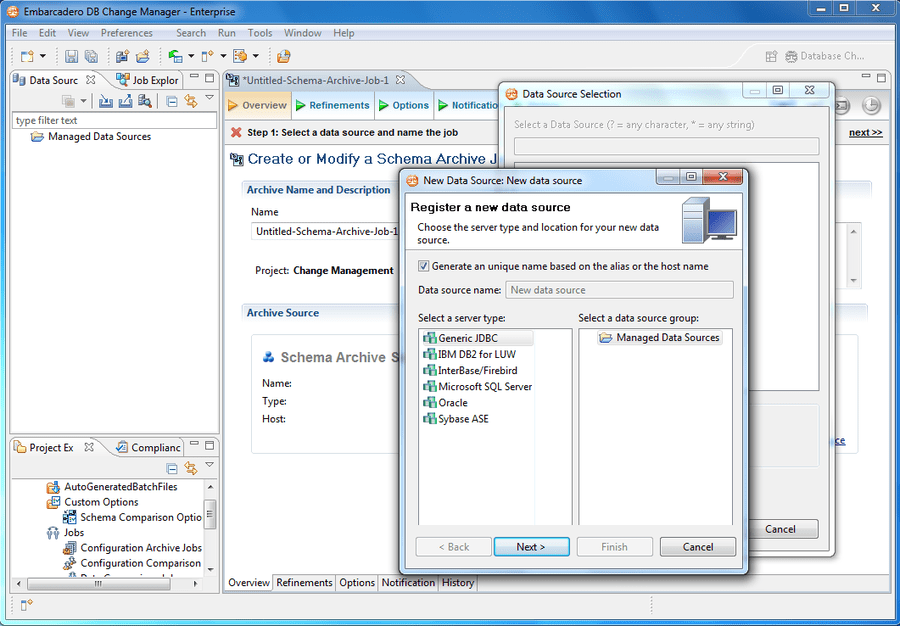 Captura de tela do DB PowerStudio Developer Edition for DB2