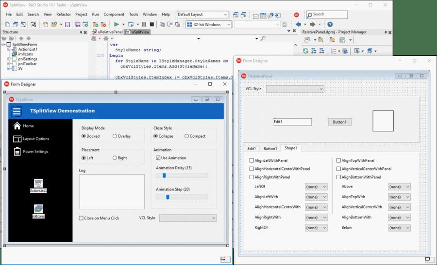 Screenshot of Delphi Enterprise