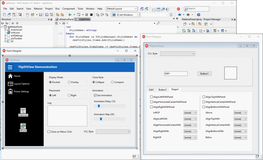 Screenshot of Delphi Enterprise