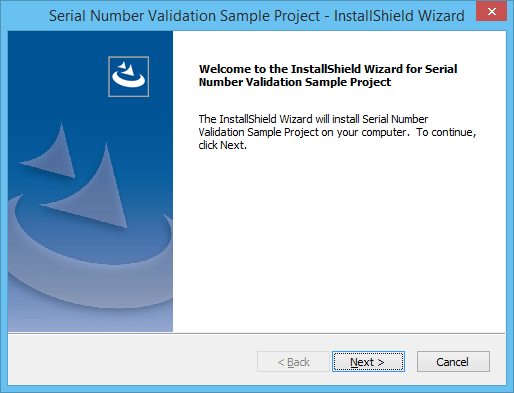 Screenshot of InstallShield Professional