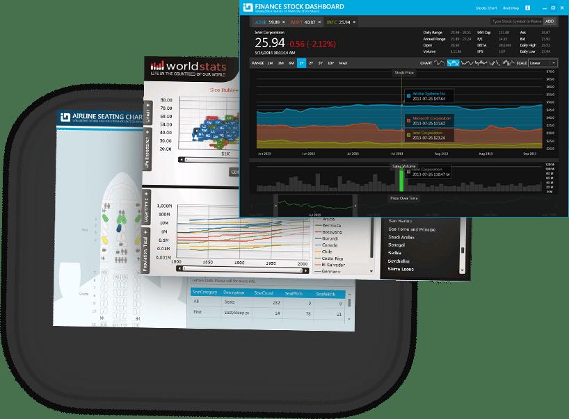 Screenshot of Infragistics WPF