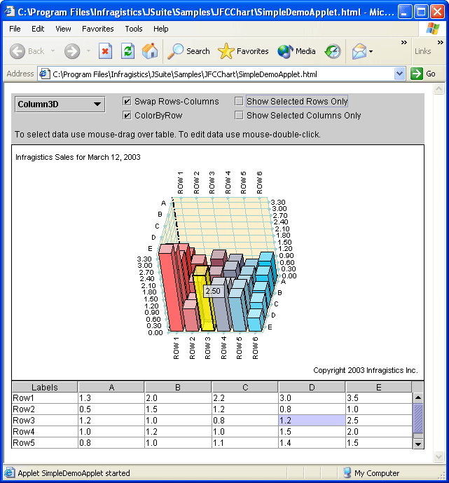 Captura de tela do JSuite