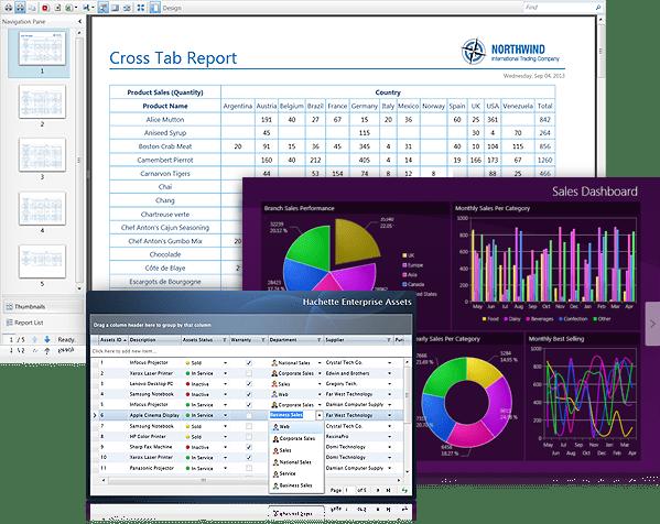 Screenshot of WebUI Studio for Silverlight and WPF