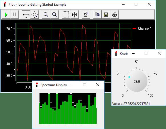 Screenshot of Iocomp ActiveX/VCL Ultra Pack